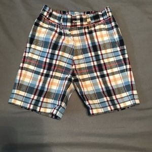 Pair of Janie and Jack Plaid Shorts